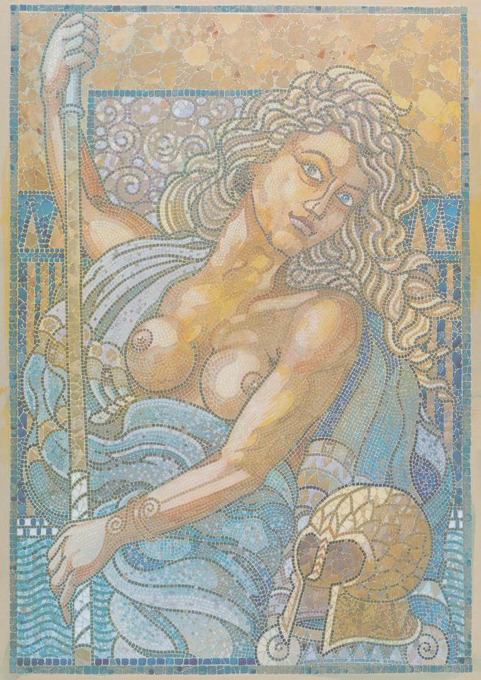 Affiche vierge mosaique CDA