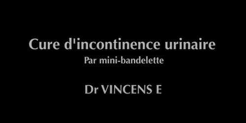 Mini bandelette Vincens E